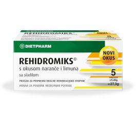 Dietpharm Rehidromiks® s okusom naranče i limuna sa sladilom