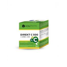 VONpharma Direkt C 500 + cink + D3 prašak za otapanje u ustima