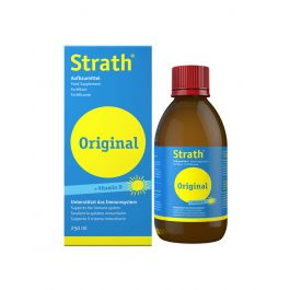 Strath + vitamin D sirup, 250 ml