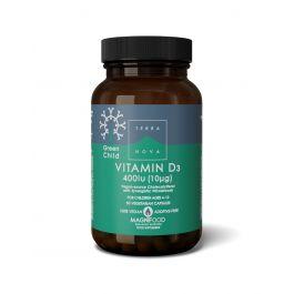Green Child Vitamin D3 400 I.U. (10μg)