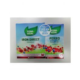 Zona Vital Iron Direct + Ferrosorb PROMO
