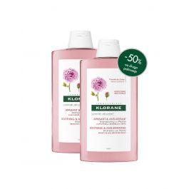 Klorane šampon s božurom, 400 ml DUO