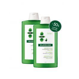 Klorane šampon s koprivom, 400 ml DUO