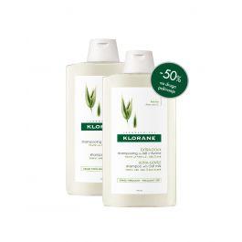 Klorane šampon sa zobenim mlijekom, 400 ml DUO