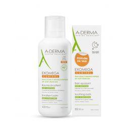 A-Derma Exomega Control emolijentni balzam, 400 ml + Exomega Control umirujuća kupka GRATIS