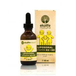 Ekolife natura Liposomalni vitamin K2 + D3 60ml