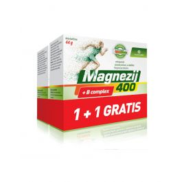 Magnezij 400 + B complex 1 + 1 GRATIS