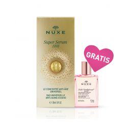 Nuxe Super serum [10], 30 ml + Čudesno suho ulje Florale, 30 ml